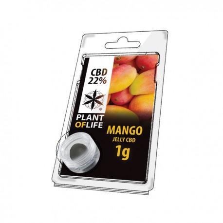 Jelly CBD MANGO 22% 1G