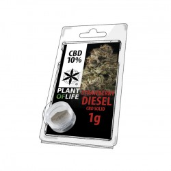 Résine CBD STRAWBERRY DIESEL 10% 1G Plant of Life