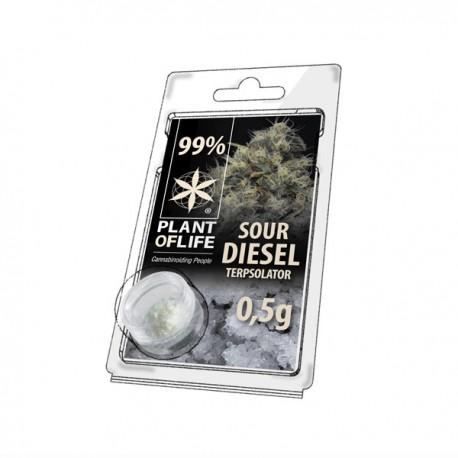 Terpsolator Sour Diesel 99% CBD - 500mg