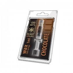 CBD Wax Chocolat 66% 1ML Plant of Life
